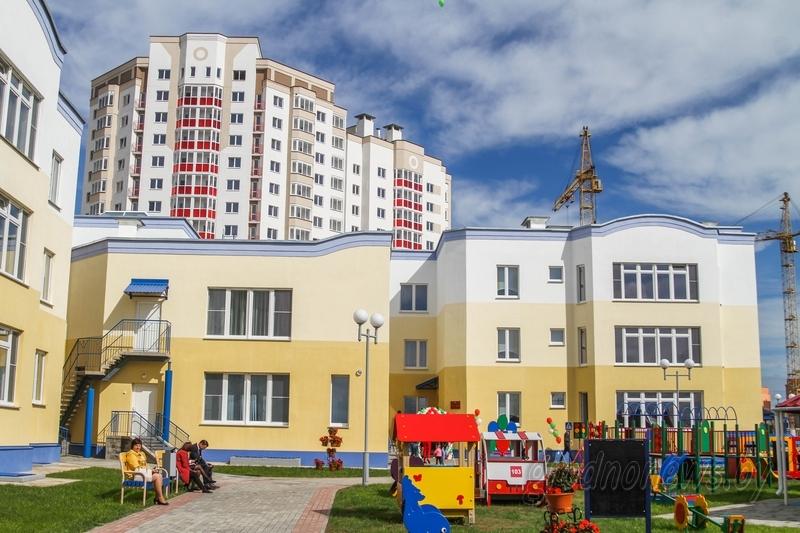 В Ольшанке началось строительство пятого детского сада