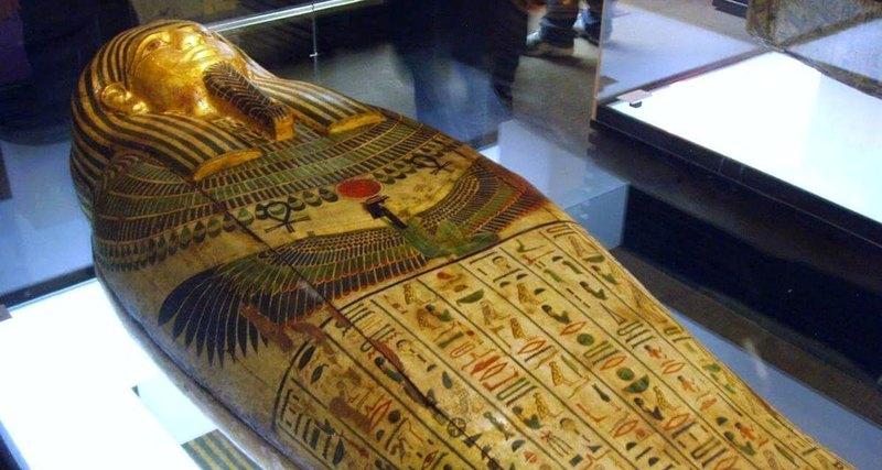 В Египте найдено неразграбленное захоронение с двадцатью саркофагами