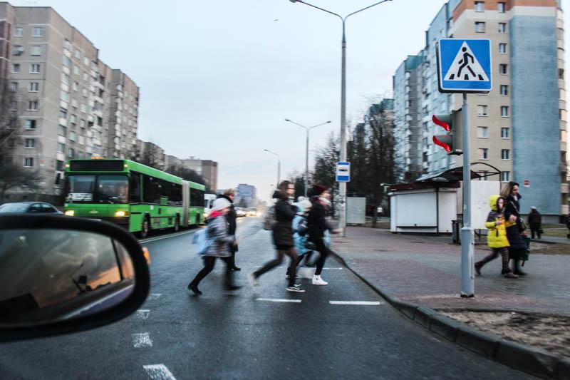 С начала года на дорогах Гродненской области в ДТП пострадали 7 детей