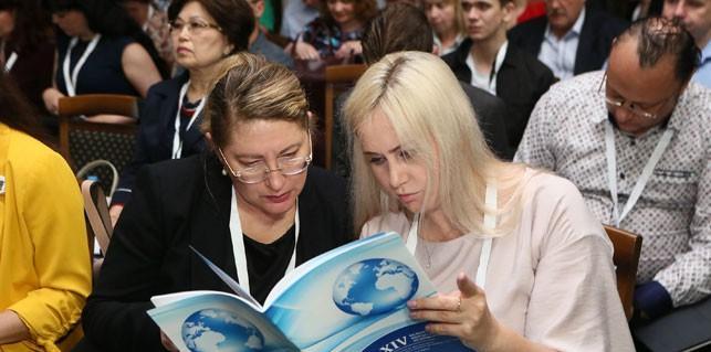 Участники XIV Белорусского международного медиафорума о будущем СМИ, цифровой эпохе и журналистике