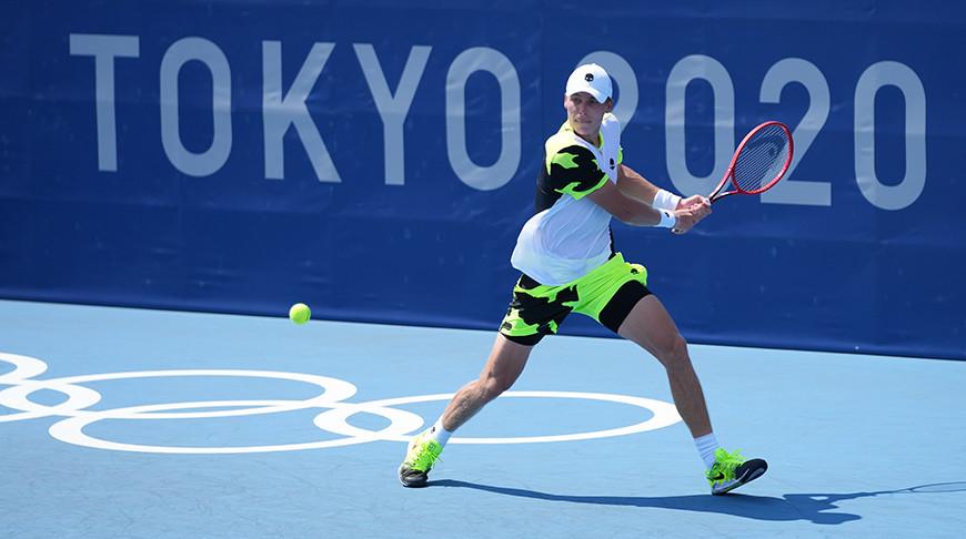 Илья Ивашко вышел в 1/16 финала теннисного турнира Олимпиады в Токио