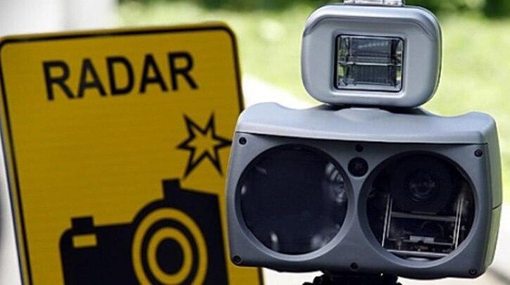 Планируемые места установки мобильных датчиков фиксации скорости на 25 июля