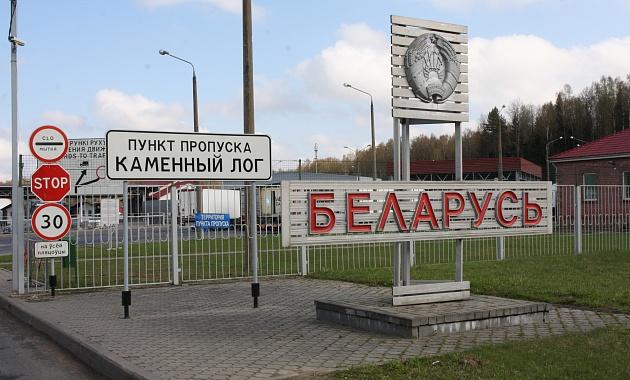 Движение грузовиков в «Каменном Логе» затруднено. На литовской стороне ведутся работы