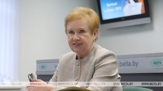 Лидия Ермошина рассказала о новациях избирательной парламентской кампании-2019