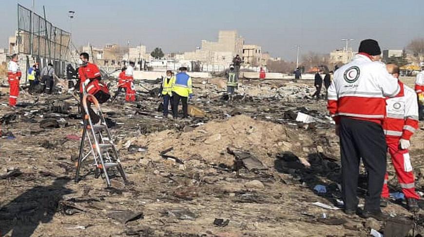 В Иране завершилась идентификация тел погибших в сбитом самолете украинцев