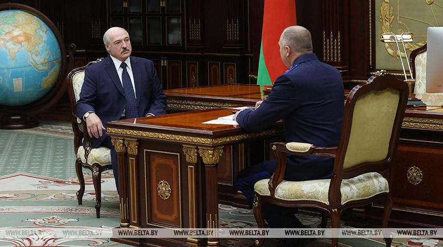 Александр Лукашенко принял с докладом председателя Следственного комитета