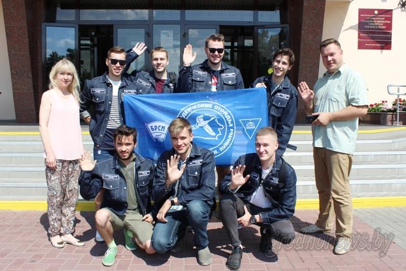 Стройотряды из Гродненской области примут участие во Всебелорусской молодежной стройке в Островце