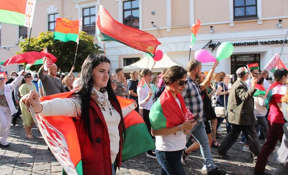 «За единую Беларусь!»Неравнодушные к судьбе Родины