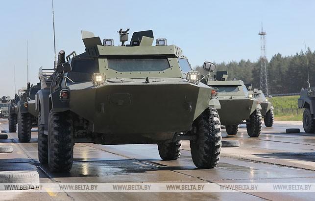 Минобороны предупреждает о движении военной техники по дорогам четырех областей 23-24 июля