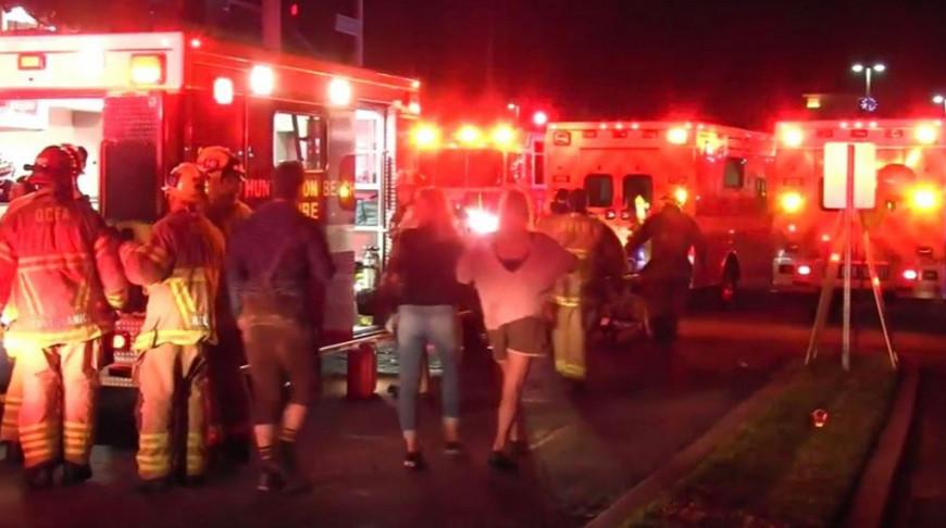 Несколько взрывов произошло на пивном фестивале под Лос-Анджелесом