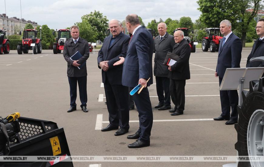 Тема недели: Рабочая поездка Президента на МТЗ