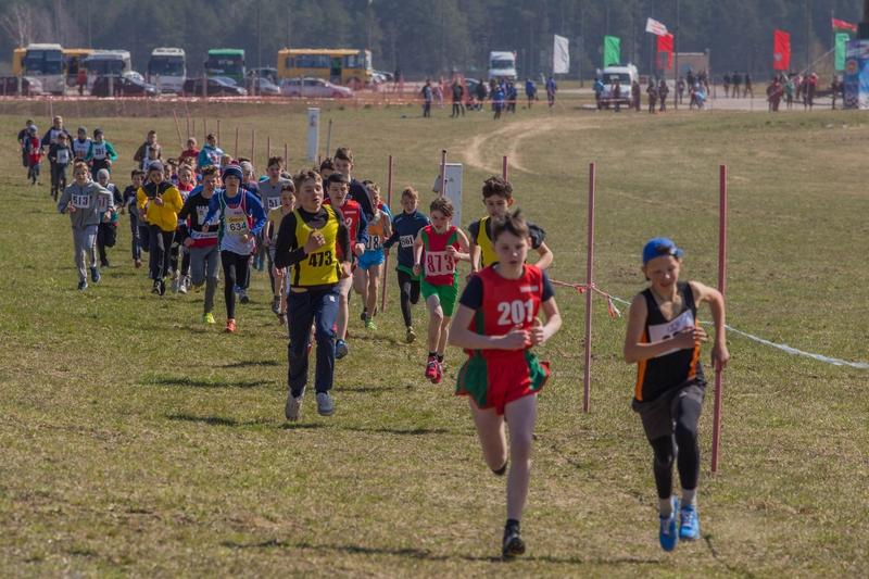 В Коробчицах выбрали лучших бегунов области