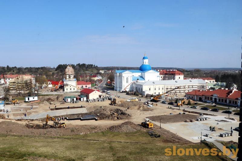 Реконструкцию братского корпуса и колокольни Жировичского монастыря планируют завершить к маю