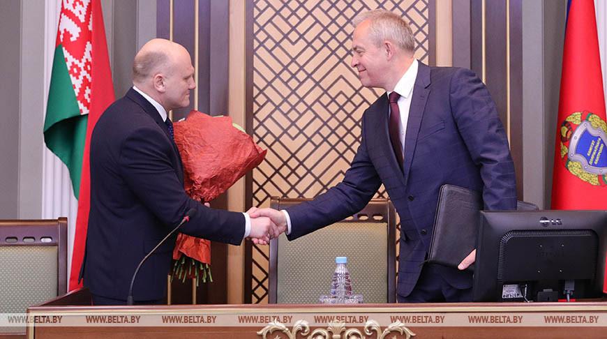Сохранить положительное и привнести новое: Игорь Сергеенко поставил задачи перед новым руководителем КГК