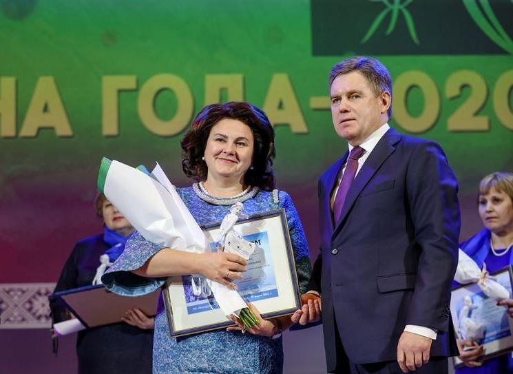 Победительниц ХIII Республиканского конкурса БСЖ «Женщина года» чествовали в столице