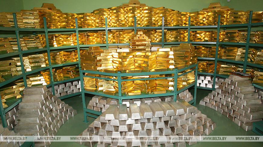 Золотовалютные резервы Беларуси за апрель выросли до $7,9 млрд