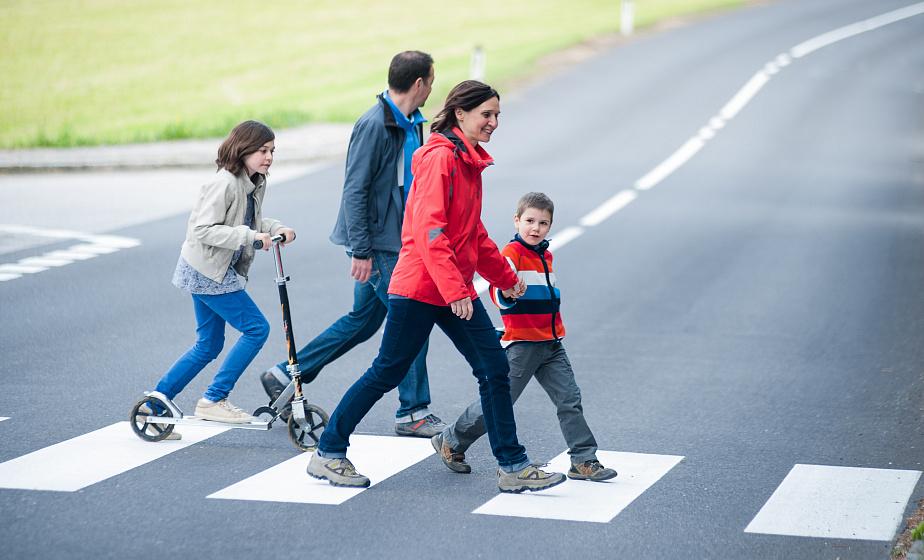 ГАИ предлагает закрепить в ПДД «правило двух полос» при пропуске пешеходов