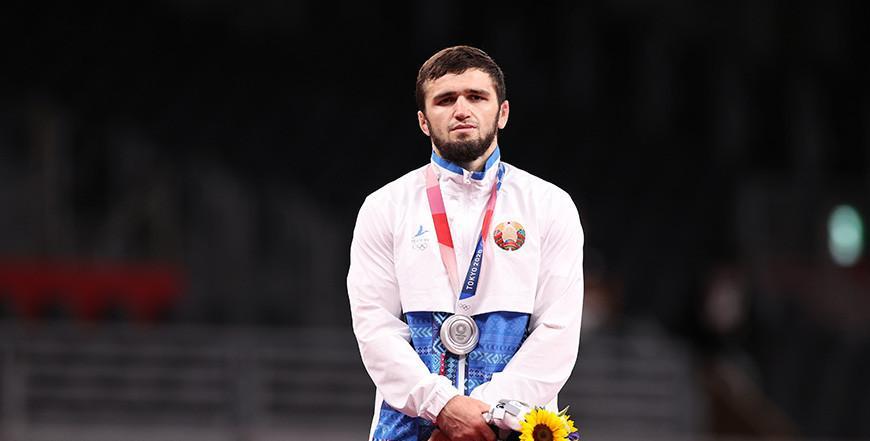 Белорусский борец Магомедхабиб Кадимагомедов завоевал серебро Олимпийских игр