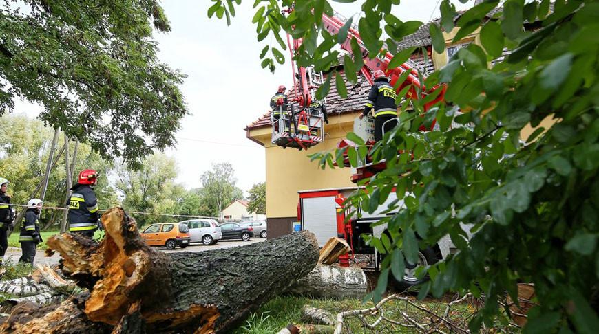 Ураган в Центральной Европе — есть жертвы