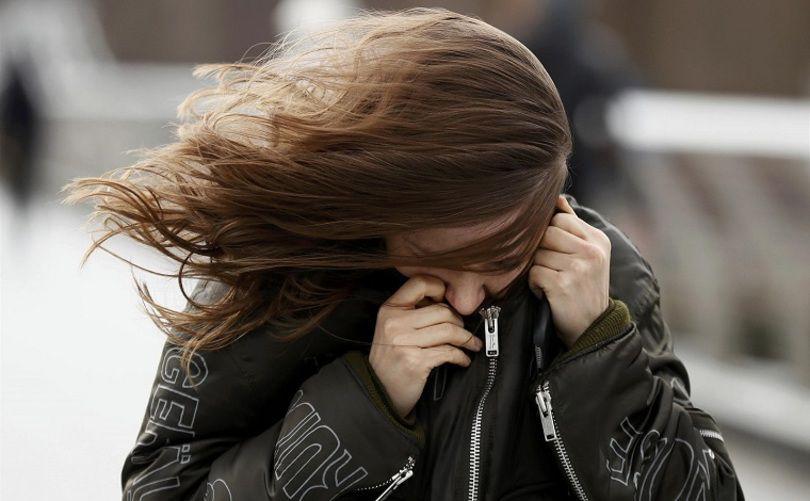 Штормовое предупреждение объявлено из-за сильного ветра