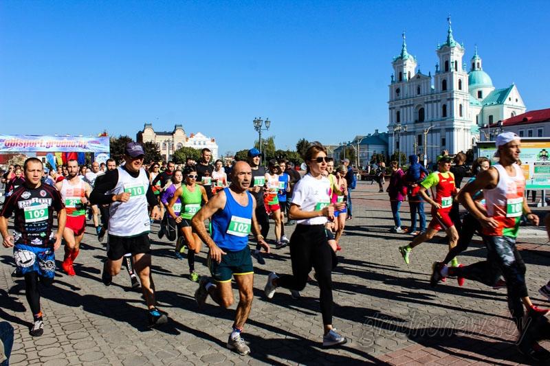 В Гродно по центральным улицам пройдет легкоатлетический пробег Grodno Run