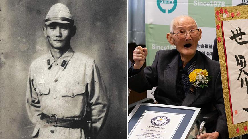 112-летний японец попал в Книгу рекордов Гиннесса как старейший мужчина в мире