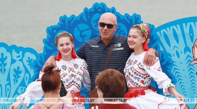 Более 450 тыс. человек посетили фан-зоны II Европейских игр