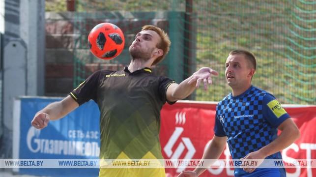 Суперфинал XII чемпионата Республики Беларусь по пляжному футболу проходит в Гродно