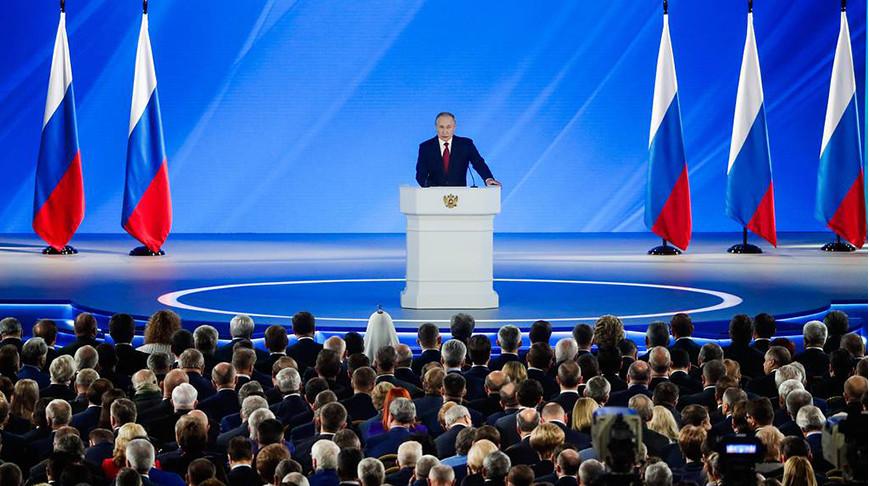 Владимир Путин предложил провести референдум об изменениях в Конституцию РФ