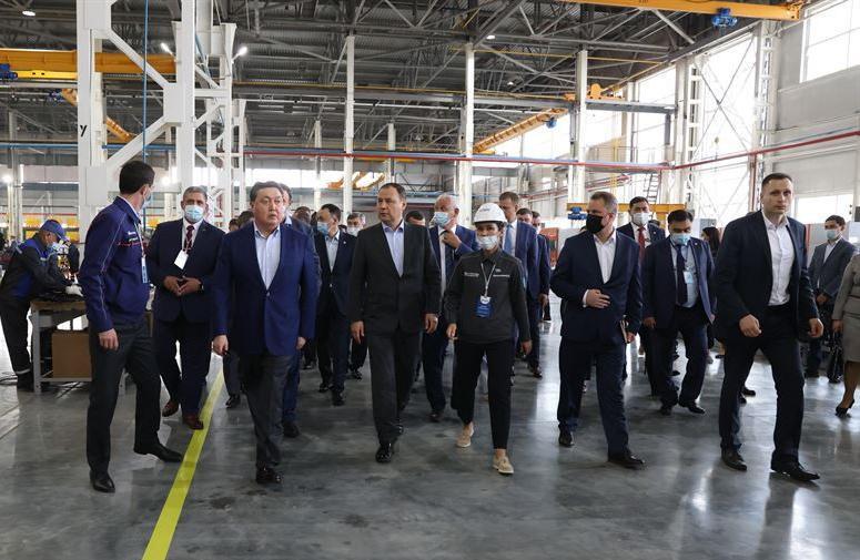 Роман Головченко посетил крупные предприятия Казахстана