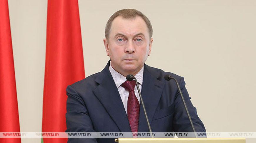Беларусь приостанавливает диалог по правам человека с Европейским союзом - Владимир Макей