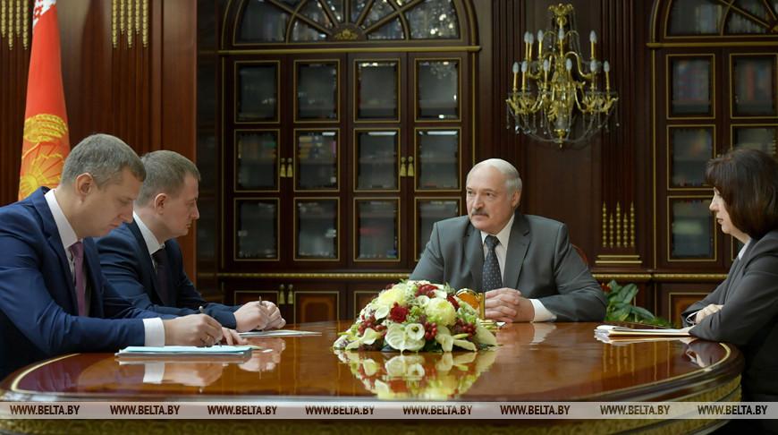 Александр Лукашенко решил назначить Дмитрия Крутого первым вице-премьером, Александра Турчина — губернатором Минской области
