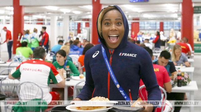 В столовой Деревни спортсменов на II Европейских играх реализовано почти 100 тыс. кг еды