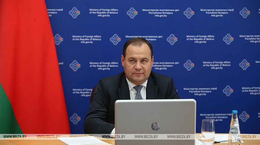 Роман Головченко озвучил приоритеты участия Беларуси в «Восточном партнерстве»