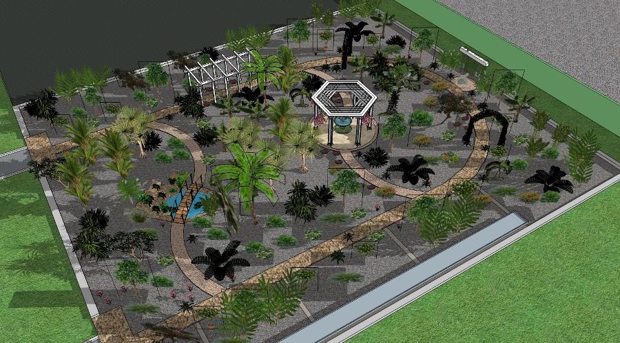 От слов – к делу: каким может быть ботанический сад в Лиде? Показываем на эскизах