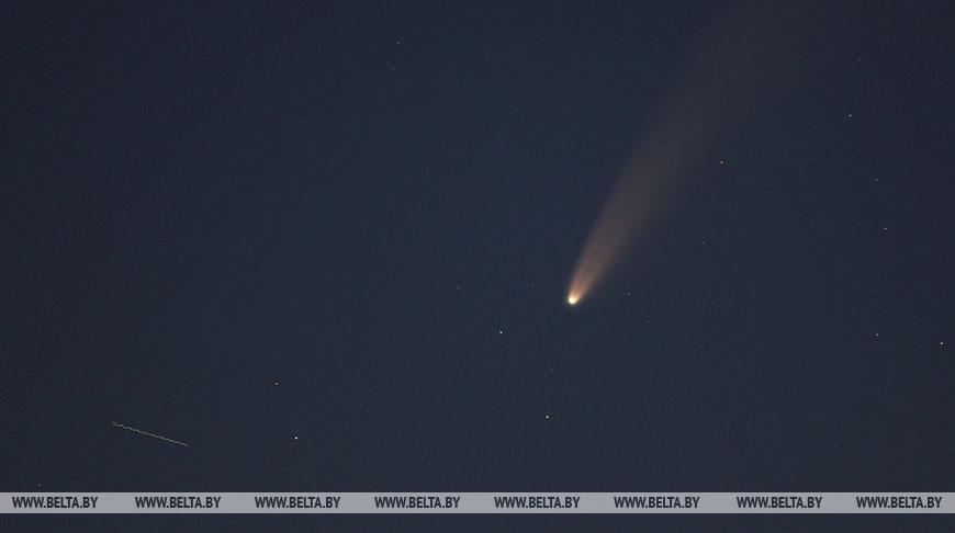 ФОТОФАКТ: Комета C/2020 F3 окажется ближе всего к Земле 23 июля