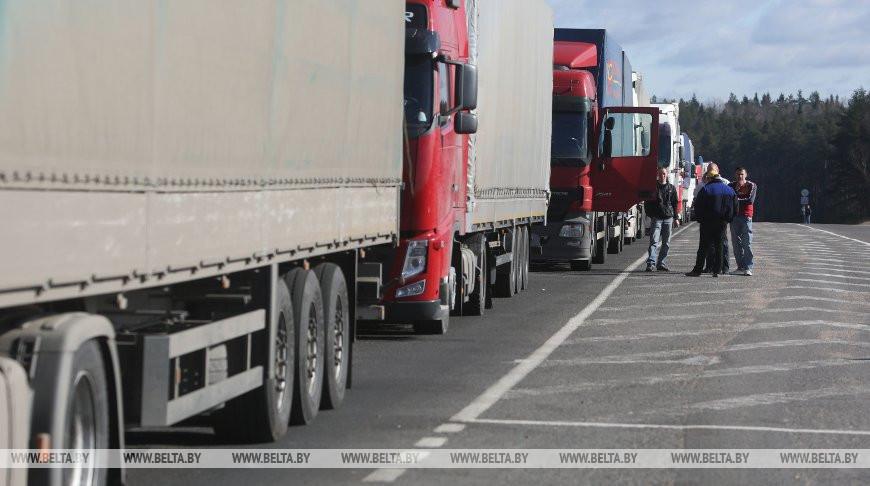 Гродненские таможенники в 2019 году по бестранзитной технологии оформили более 2,5 тыс. грузовиков