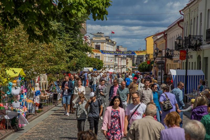 Сколько жителей в Беларуси и какая область самая населённая. Инфографика