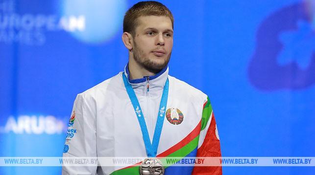 «Выступил так, как мы рассчитывали». Свислочский борец вольного стиля Александр Гуштын завоевал бронзовую медаль II Европейских игр