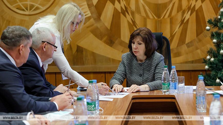 """Наталья Кочанова посетила площадки ОАО """"Горизонт"""""""