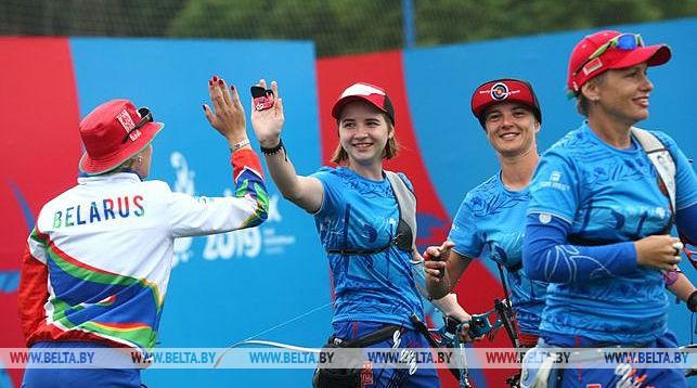Белорусские лучницы вышли в финал турнира и обеспечили как минимум серебро Европейских игр