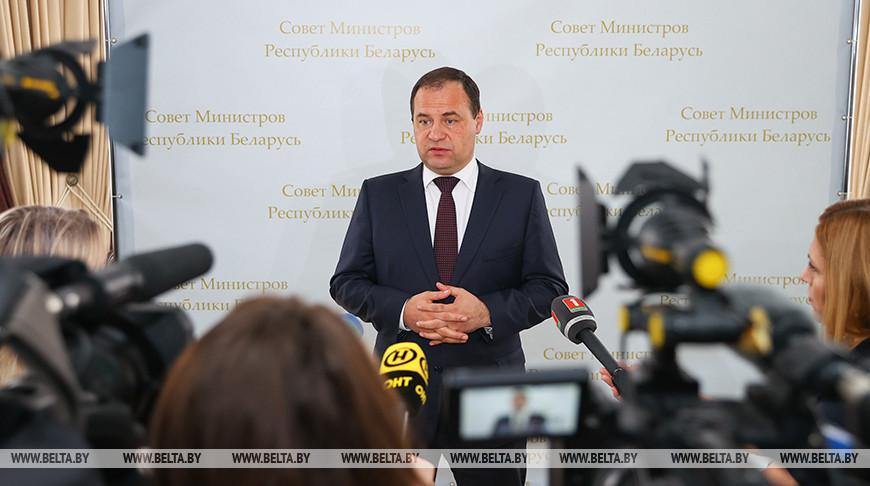 Роман Головченко: никто не ставит под вопрос наш суверенитет, это даже не обсуждается Беларусью и Россией