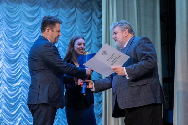 Сотрудники ГрГУ имени Янки Купалы удостоены наград за достижения в профессиональной деятельности