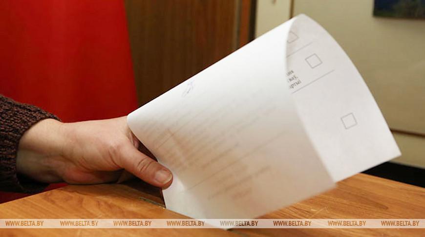Голосование на выборах Президента Республики Беларусь (инфографика)