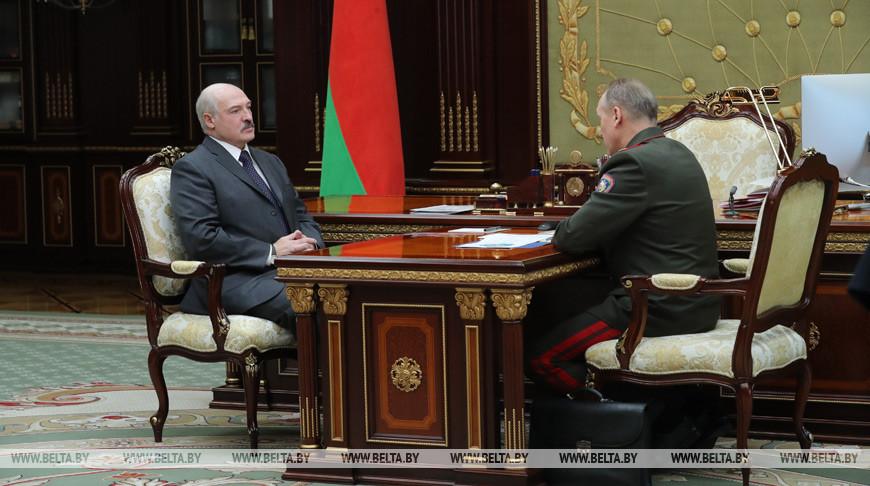 Александр Лукашенко обращает внимание на пожароопасную обстановку в Беларуси