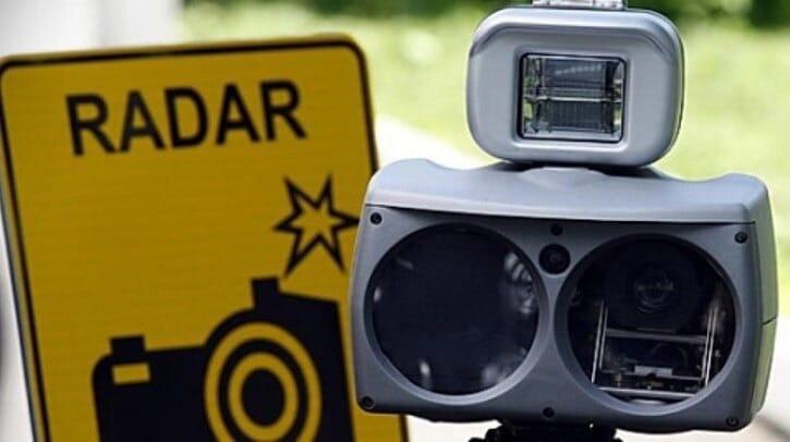 Планируемые места установки мобильных датчиков фиксации скорости на 18 июля