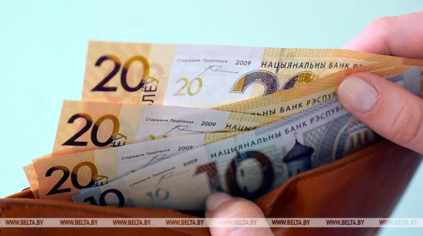 Средняя зарплата в Беларуси в ноябре составила Br1300,5