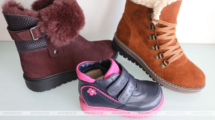 Опасную зимнюю детскую обувь выявили в продаже в Гродненской области