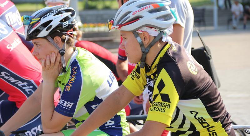 В Новогрудском районе проходят чемпионат, первенство и Олимпийские дни молодежи Республики Беларусь по велоспорту на шоссе 19:20 14 июня 2019