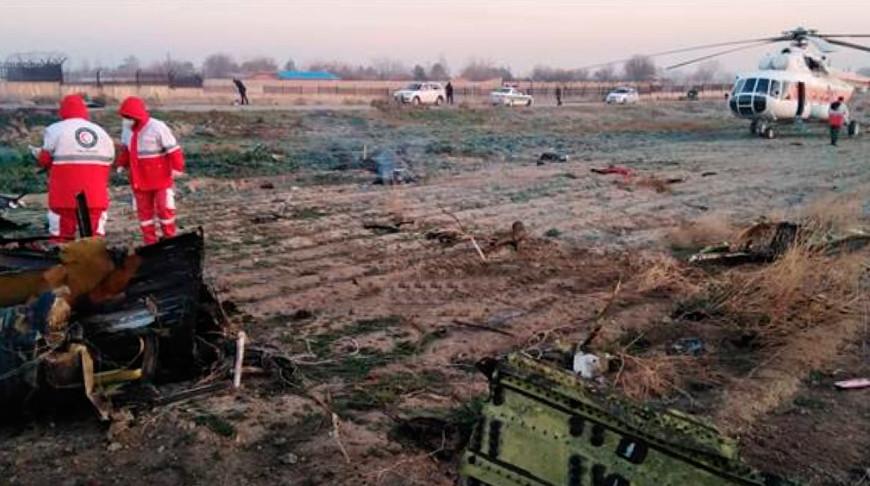 Все пассажиры разбившегося в Тегеране украинского самолета погибли